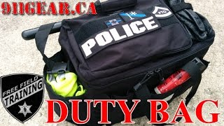 POLICE DUTY BAG/Vehicle Organizer Review