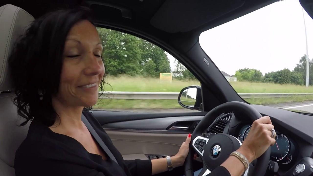 BMW X3 20i test drive - YouTube