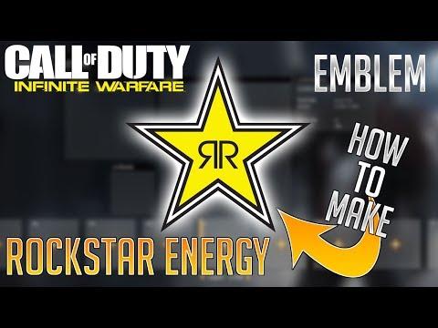 Infinite Warfare Emblem:  Rockstar Energy Logo