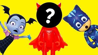 The  ASSISTANT with PJ Masks Look for the Missing  Halloween Costumes