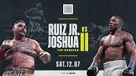 Ruiz vs. Joshua II | NYC Press Conference