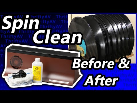 Spin Clean Record Washer  |  Step by Step Demo with Needle Drop and Cleaning Tips!