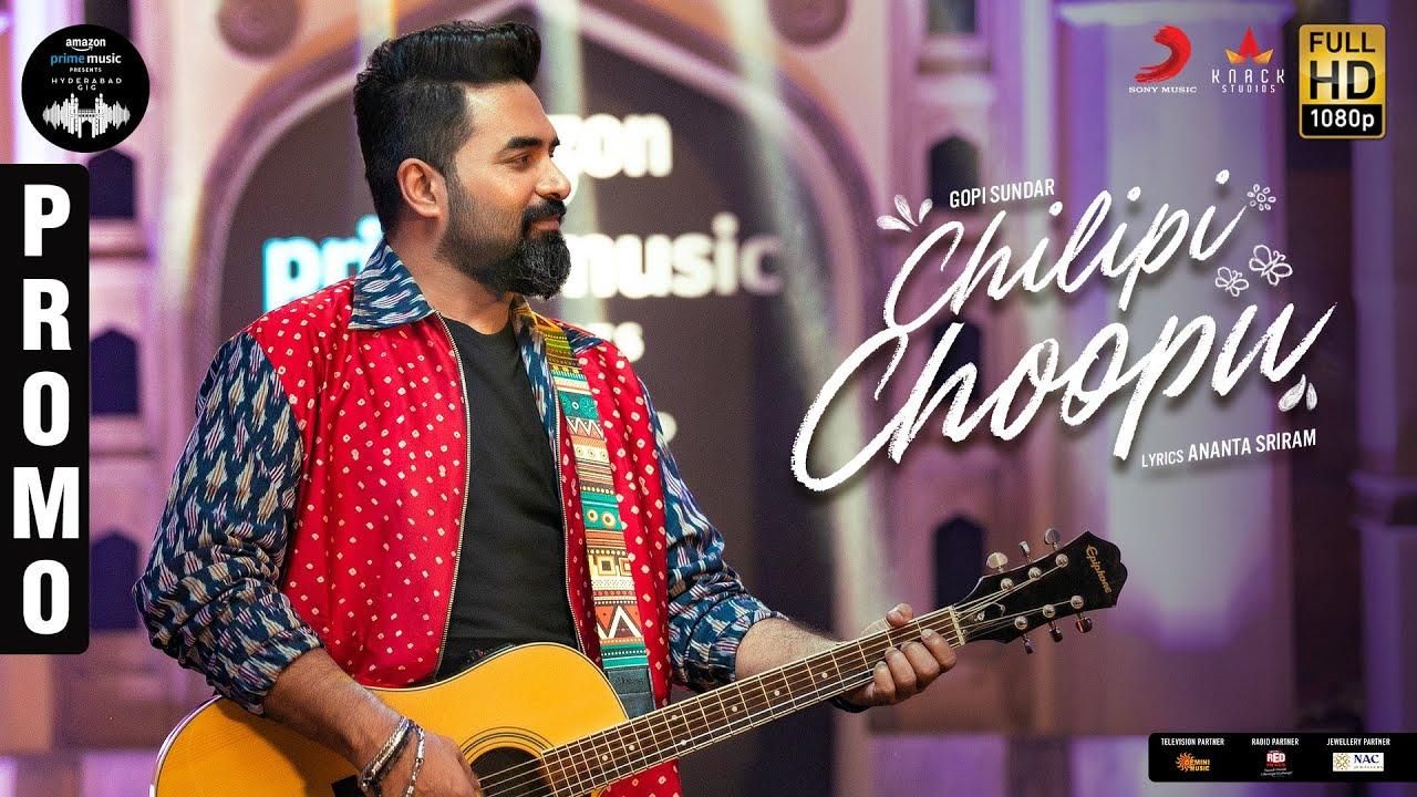 Amazon Prime Music Hyderabad Gig | Chilipi Choopu - Promo | Gopi Sundar