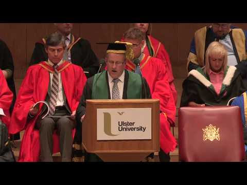 Ulster University Summer 2017 Graduation - morning ceremony Belfast/Jordanstown