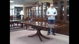 """Charak Mahogany Dining Table """"piece Of The Week"""" 03/30/12"""