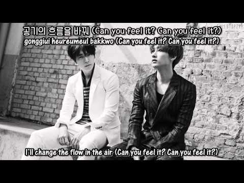 Super Junior-D&E - Can you feel it? + [English Subs/Romanization/Hangul]