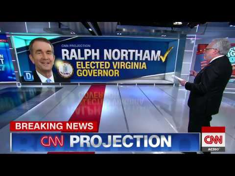 Northam projected to win Virginia race