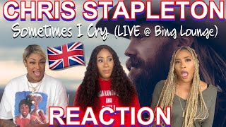Non Country fans react to CHRIS STAPLETON - Sometimes I cry (LIVE) | UK REACTION 🇬🇧