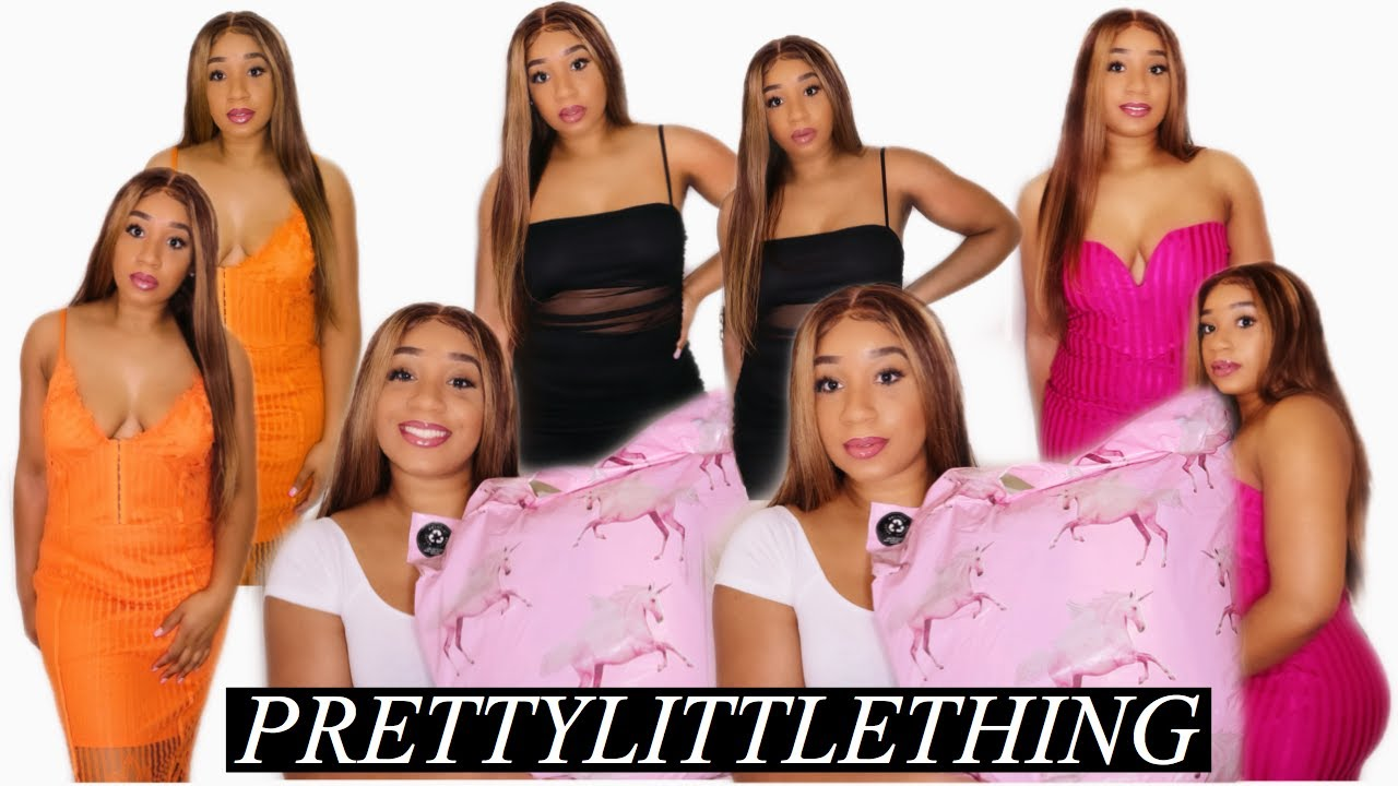 PRETTYLITTLETHING TRY-ON HAUL | SPECIAL OCCASION DRESSES