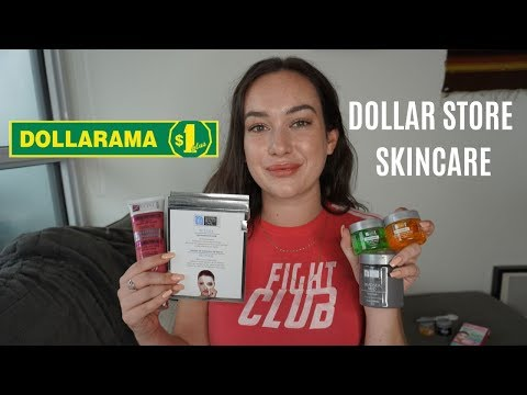 A Biochemist Reviews DOLLAR STORE SKINCARE PRODUCTS