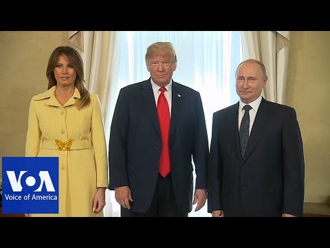 Helsinki Summit: Trump Introduces First Lady Melania to Putin
