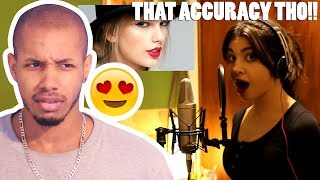1 GIRL 15 VOICES (ADELE, ELLIE GOULDING, CELINE DION, AND 12 MORE) REACTION