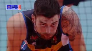 Brazil v Italy — Full Highlights ¦ 2018 Volleyball Nations League ¦ Men