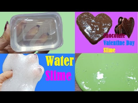Best Slime from Toys Channel Slime! Chocolate Slime, CLEAR SLIME, Flour Slime, Water Slime