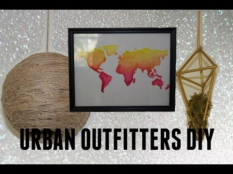 DIY ROOM DECOR: URBAN OUTFITTERS INSPIRED