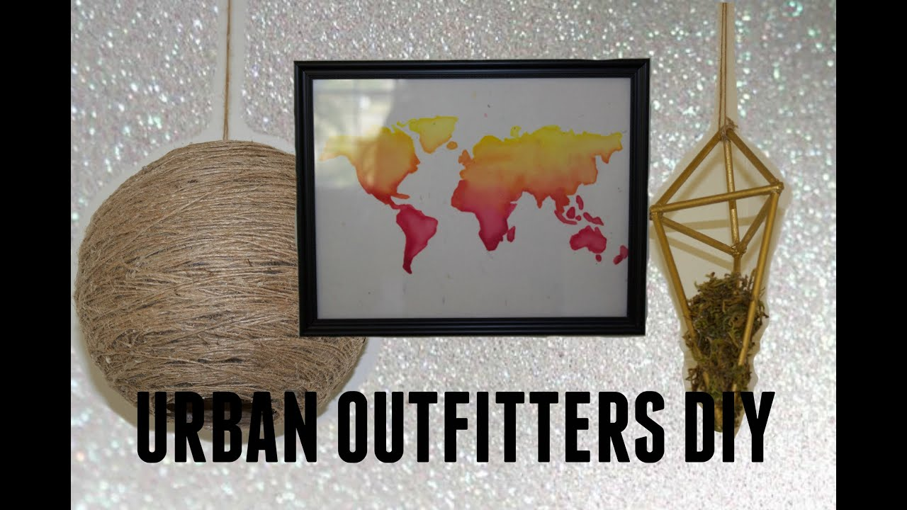 Bedroom Ideas Urban Outfitters Diy Room Decor Urban Outfitters Inspired Youtube