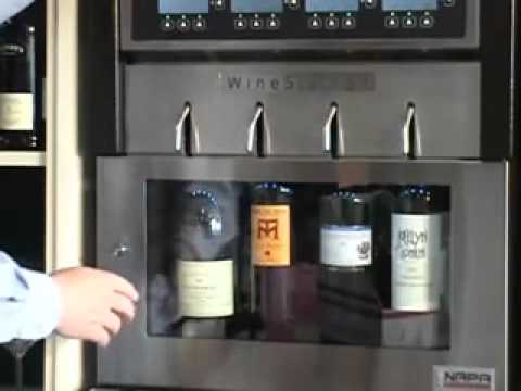 Wine Preservation Dispensing System by Napa Technology - WineStation Basics 2009