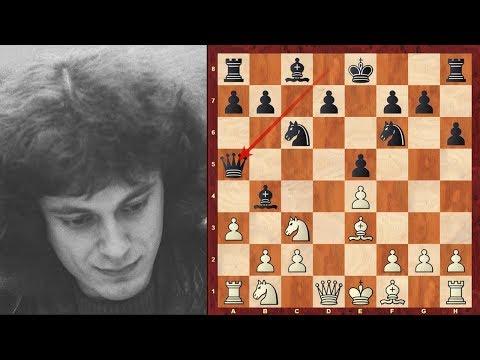 Top Dr John Nunn Chess Sacrifices - 1978-1982