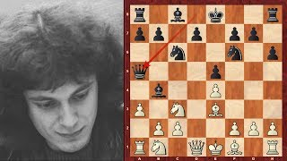 Top Dr John Nunn Chess Sacrifices - 1978-1982