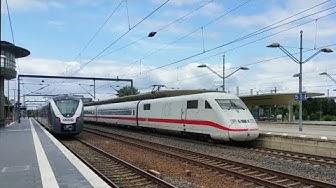 Wolfsburg Hbf / Wolfsburg Mainstation - Zugverkehr mit ICE / IC / BR 101 / BR 642(Makro) / BR 1440