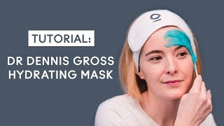 Face mask tutorial for dry skin
