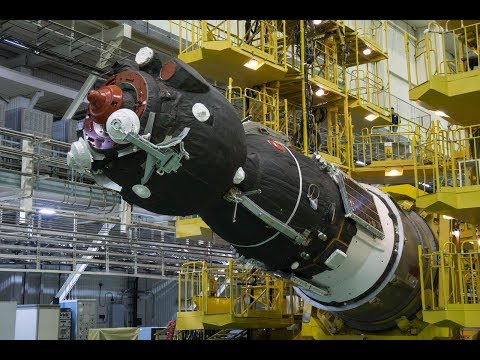 Soyuz MS-08 Assembly, Testing, Integration and Rollout