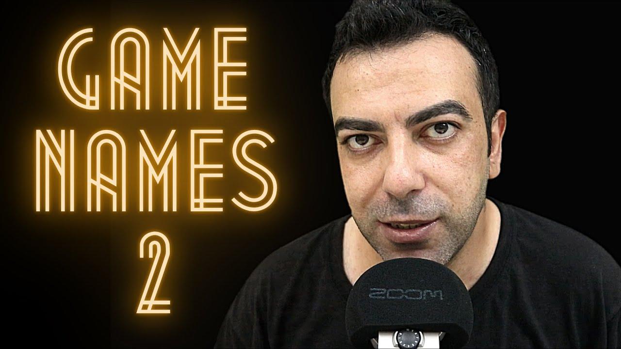 ASMR OYUN İSİMLERİ 2 | GAME NAMES 2