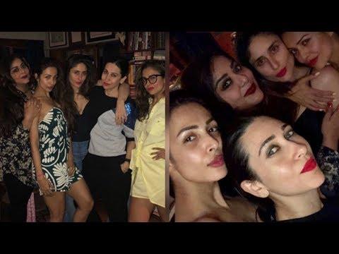 Kareena Kapoor Parties with Her BFFs Malaika Arora, Amrita Arora And Sister Karisma Kapoor Mp3