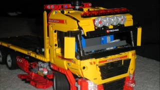 lego technic flatbed truck