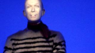 An animated mannequin from Jean Paul Gaultier's exhibit at the Brooklyn Museum. Thumbnail