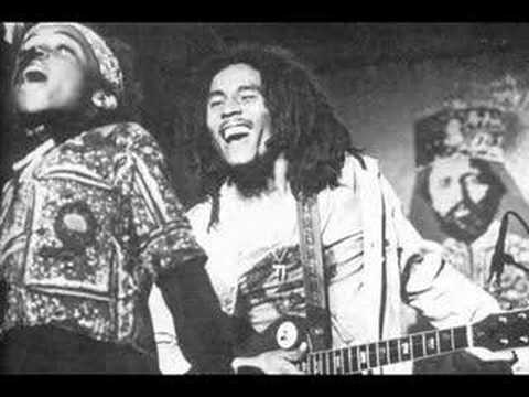 Bob Marley and Ziggy on stage - Lively up yourself boston 1976