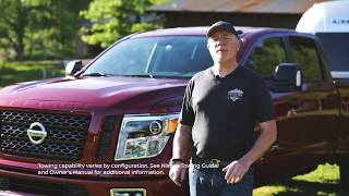 homepage tile video photo for 2019 Nissan TITAN Trailer Towing
