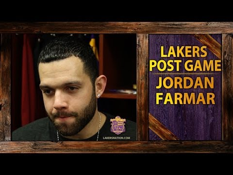 Lakers vs. Rockets: Jordan Farmar Shares What The Lakers Will Miss Without Steve Blake