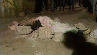 انفراد| اللقطات الأولى لجثمان أحد ضحايا الحادث الإرهابي بالدرب الأحمر