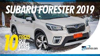 Subaru Forester 2019 - 10 Cosas que debes saber | Autocosmos de Chile