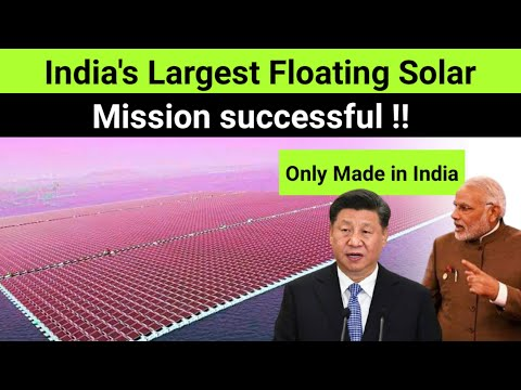 """100% Made in India 🔥 Ciel & Terre Completes """"India's largest floating Solar Plant"""" FINALLY !"""