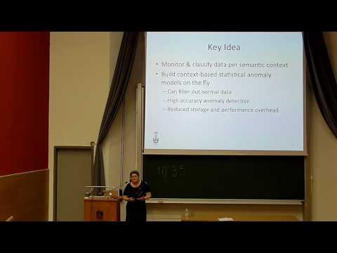 Talk by Cristiana Amza at ECE TUC (Jun 6, 2017)