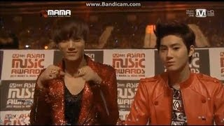 [HD] 121130 MAMA- EXO reactions Part 2