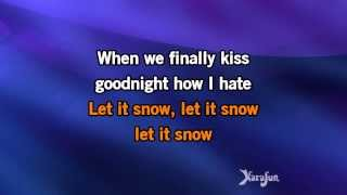 Karaoke Let It Snow! Let It Snow! Let It Snow! - Michael Bublé *
