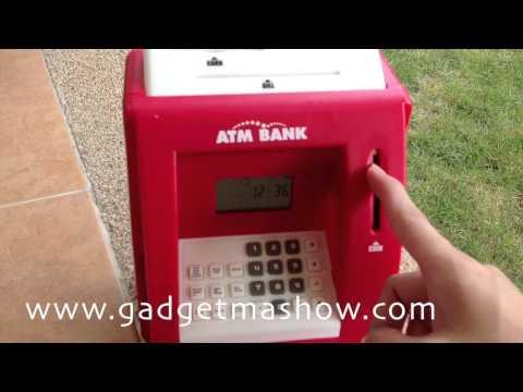 ตู้ ATM ออมสิน กระปุกออมสิน ATM