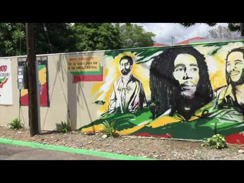 Bob Marley Museum,  Kingston Jamaica