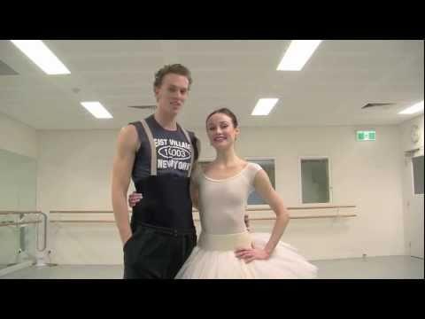 Australian Ballet principal dancers Amber Scott and Adam Bull