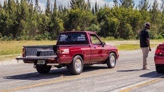 2JZ Powered Toyota Pickup Truck VS SRT-6 AMG, M3 Supercharged, and Terminator Cobra
