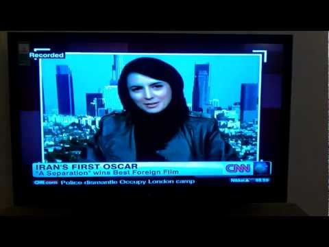 CNN's interview with Leila Hatami after Oscars 2012