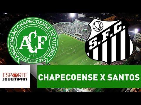 Transmissão AO VIVO - Chapecoense x Santos