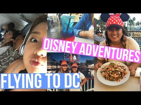 FLYING TO DC + DISNEYLAND ADVENTURES!!!