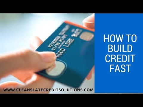 How to Build Credit Fast