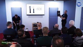 Bowers & Wilkins NEW 600 Series HiFi Speakers FULL DEMO Part 1 @ Bristol Show 2019