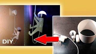 Ночник альпинист-человечек для детей - Светильник своими руками | ПВХ Лампа