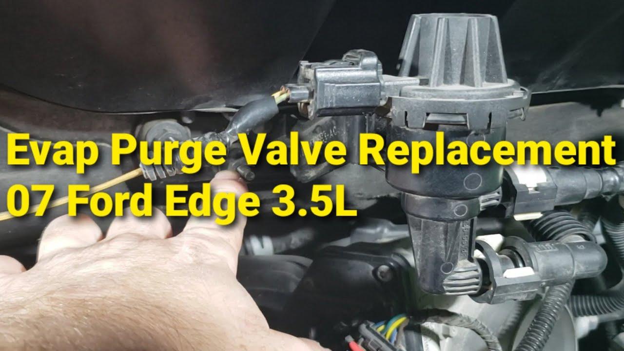 Evaporative Emissions Purge Valve Replacement 07 Ford Edge 3 5l Youtube